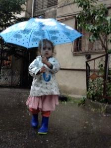 color changing umbrella