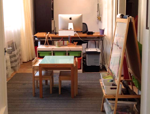 Child Art Studio Space