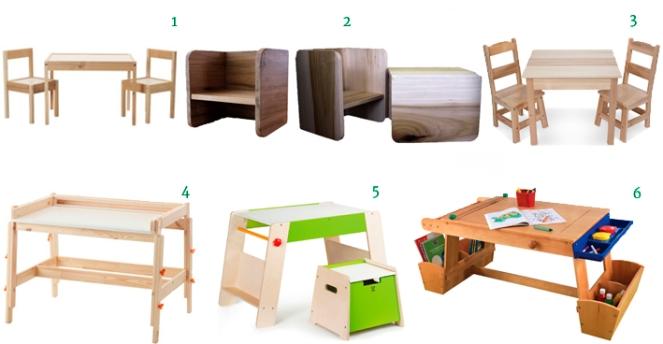 Art Tables for Kids