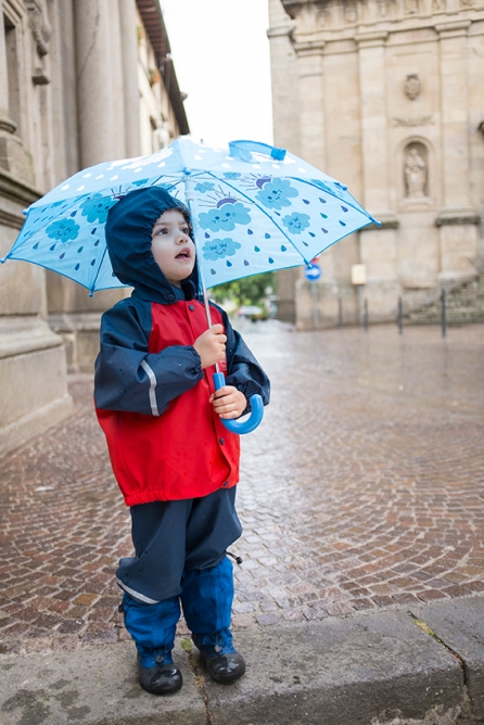 Abeko Holly & Beau Kids Friendly Magical Umbrella Color Changing in The Rain MyMayu Boots