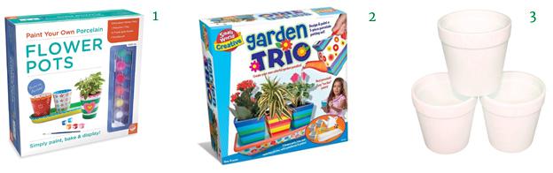 Flower Pots for Kids