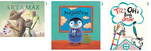 Kids' Books About Making Art