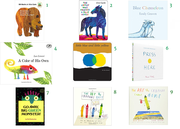 Picture Books About Color