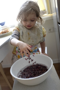 Sensory Activity Beans Rice Nuts Find time to yourself Mommy Time Toddler Preschooler