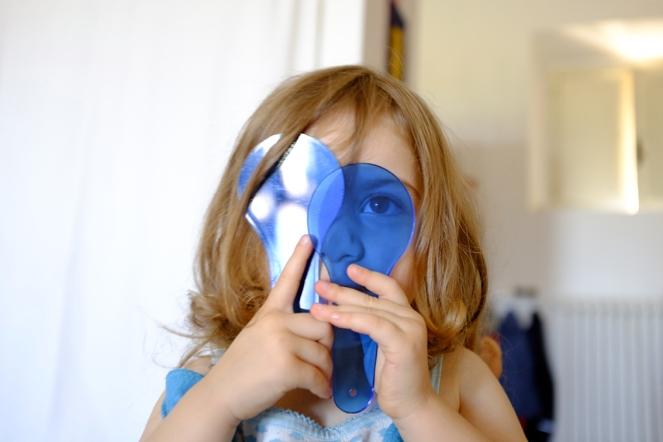Blue Color Paddles
