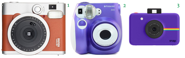 Insta Cameras Fujifilm Instax Mini 90Polaroid PIC-300Polaroid Snap Instant Digital Camera
