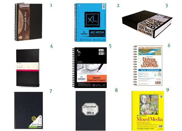 sketchbooksPads