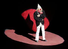 Tbilisi circus clown