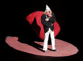 Tbilisi circus clown