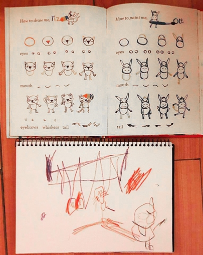Tiz and Ott's Big Draw by Bridget Marzo