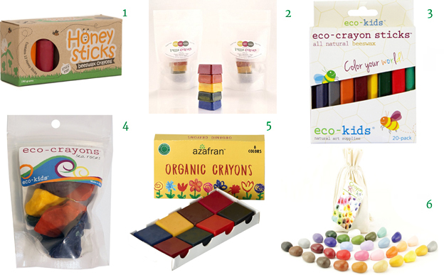 Honeysticks 100% Pure Beeswax Crayons Wee Can Too Organic Veggie Crayons Eco-kids Eco-Crayons Eco-Crayon Sticks Azafran Organic Crayons Crayon Rocks