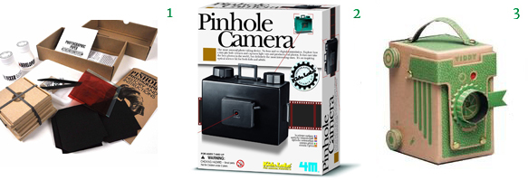 Pinhole Photography Kit 4M Pinhole Camera Green Viddy Pinhole Camera