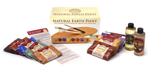 Natural Earth - The Complete Eco-friendly Artist Oil Paint Kit