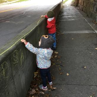 Children Graffit Art