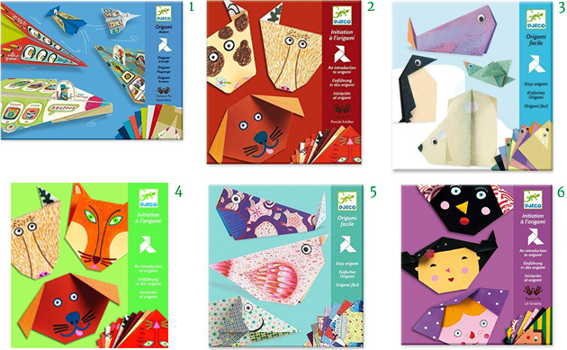 Djeco Origami Kits Sets