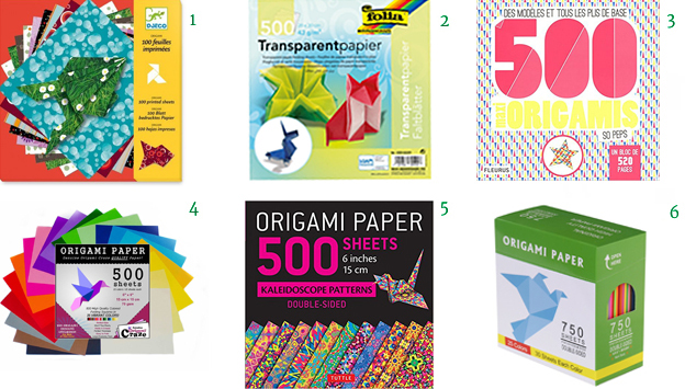 origami paper patters transparent 500 sheets