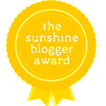 The Sunshine Blogger Award Logo
