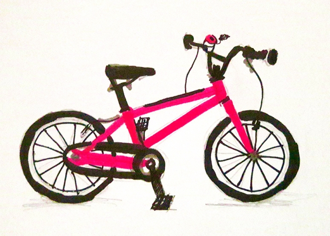 Islabikes Cnoc 16 Illustration