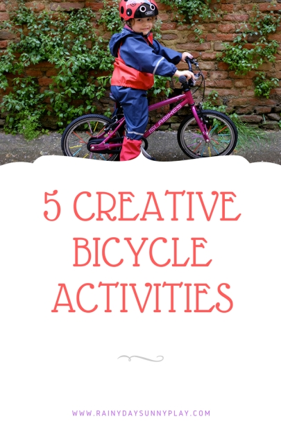 5 CREATIVE BICYCLE ACTIVITIES