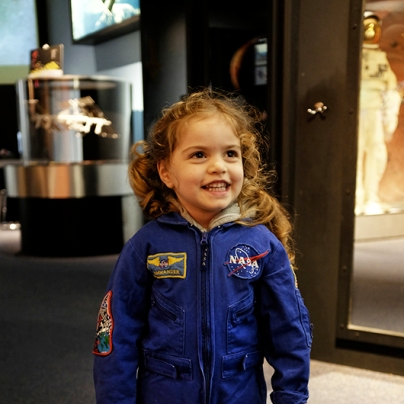 NASA CHILD astronaut costume baltimore science museum