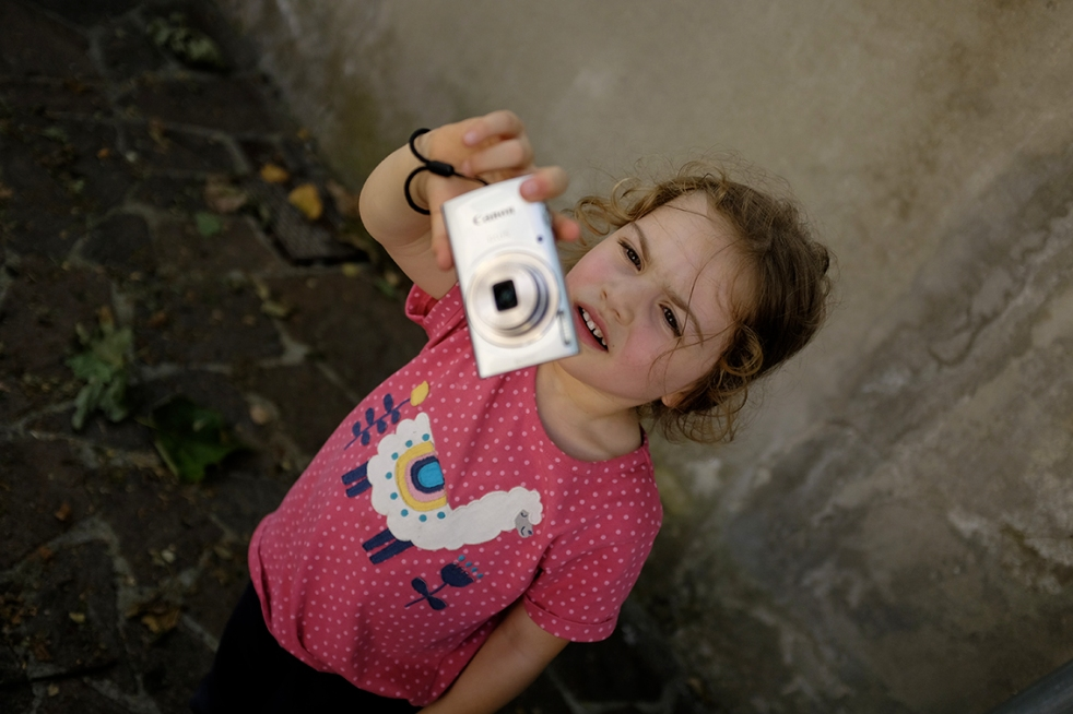Child taking photos canon coolpix we love frugi