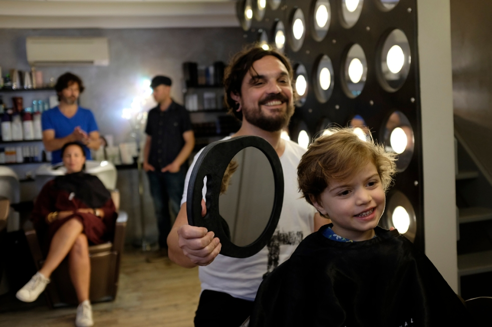 Child First Haircut L'esprit Libre Montpellier Hair Salon