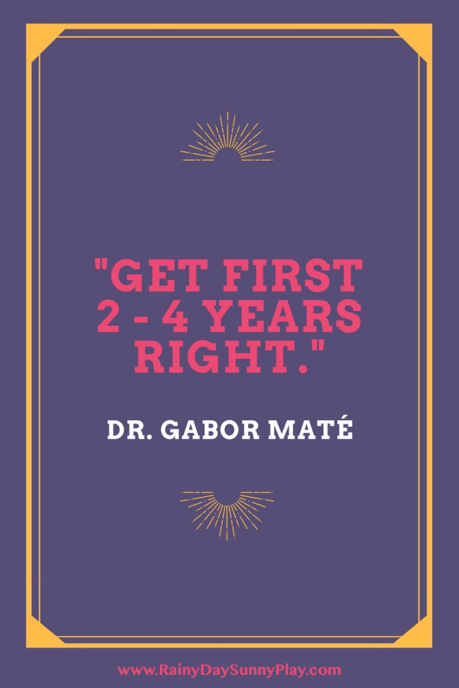 Dr. Gabor Mate Quote Parenting