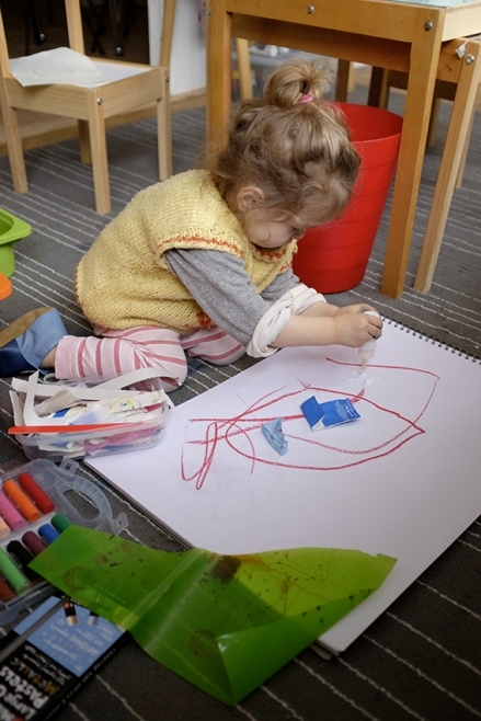 KIDS ART STUDIO ON THE GO HOW TO PROTECT FURNITURE AND FLOORS FROM PAINT