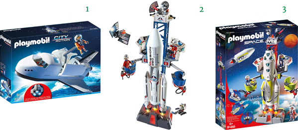 Playmobil Educational SPACE Toys for Kids