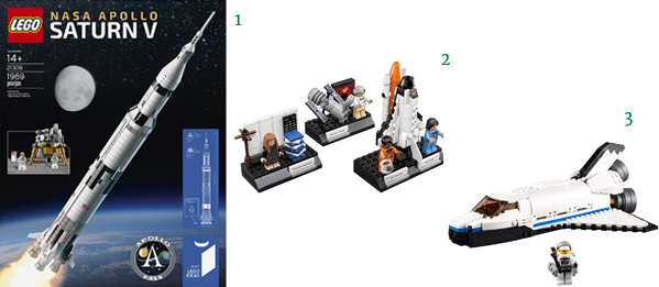 Lego Educational SPACE Toys for Kids