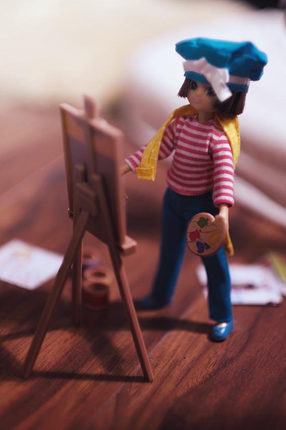 Lottie Doll Always Artsy