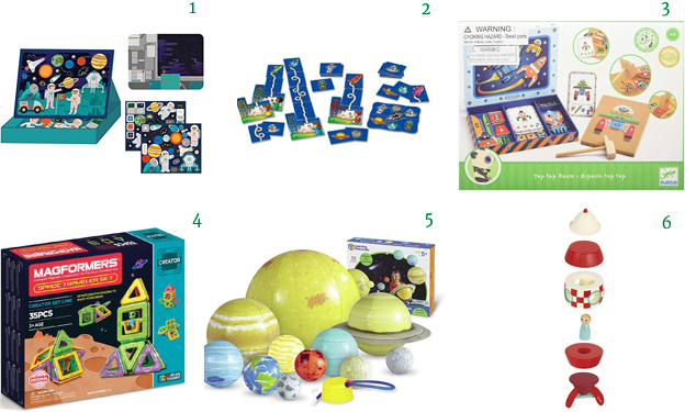 Educational SPACE Toys Games for Kids