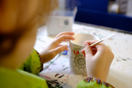 Color Your Own Mugs and Coasters Set